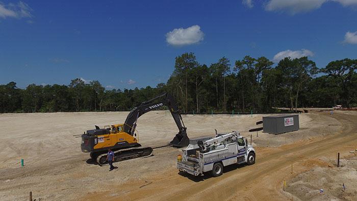 Construction Road Work I  Daytona Beach Fl